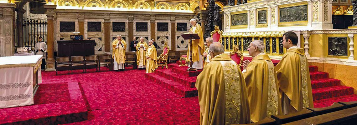 <br><br>Tutte le celebrazioni e i momenti di preghiera <br>in Basilica e sul web<br><br>Guarda il calendario>>