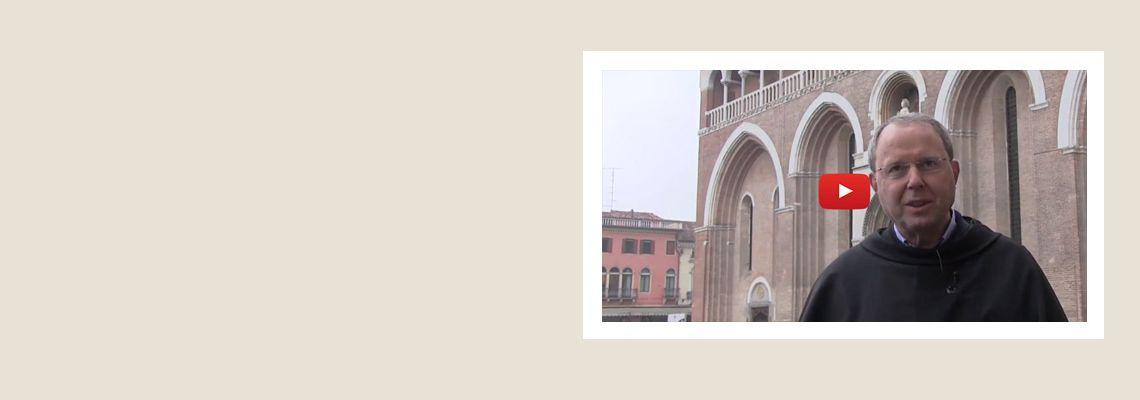 """25 aprile, settima video-meditazione:<br><br>""""Beati voi, amici di Sant'Antonio,<br>perché sarete consolati""""<br><br>a cura di p. Oliviero Svanera – Rettore della Basilica"""