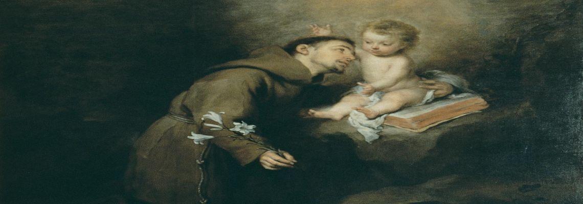 Schreiben Sie Ihr gebet zum heiligen Antonius >