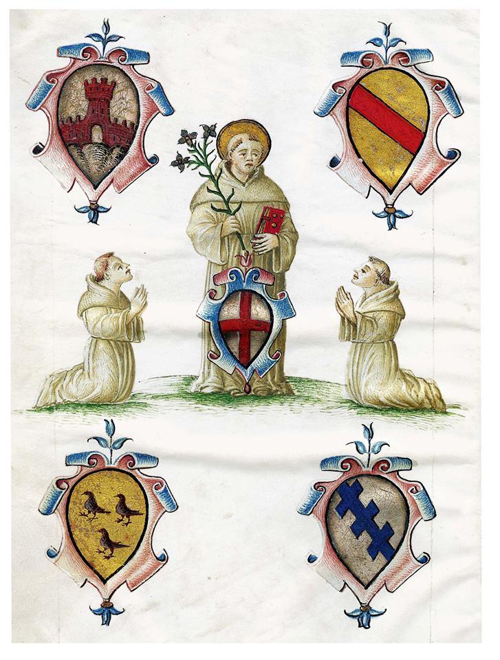 Antico libro dell'archivio della Veneranda Arca