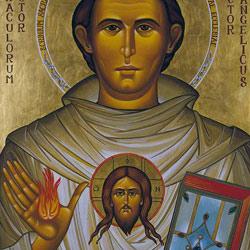 Icona di sant'Antonio di Lia Galdiolo,1995