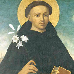 Antonio con libro e giglio, XVI sec., Padova, Chiesa di san Daniele