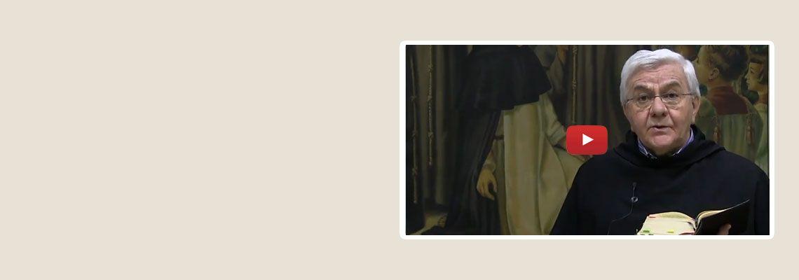 """15 maggio 2018<br><br>nona video-meditazione:<br>""""Non dire il falso""""<br><br>a cura di p. Luciano Bertazzo"""