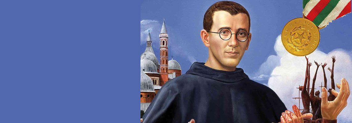 Dal 25/01 al 6/02 in Veneto<br>omaggio al Servo di Dio<br>p. Placido Cortese, frate del Santo <br>e Medaglia d'oro al Merito Civile