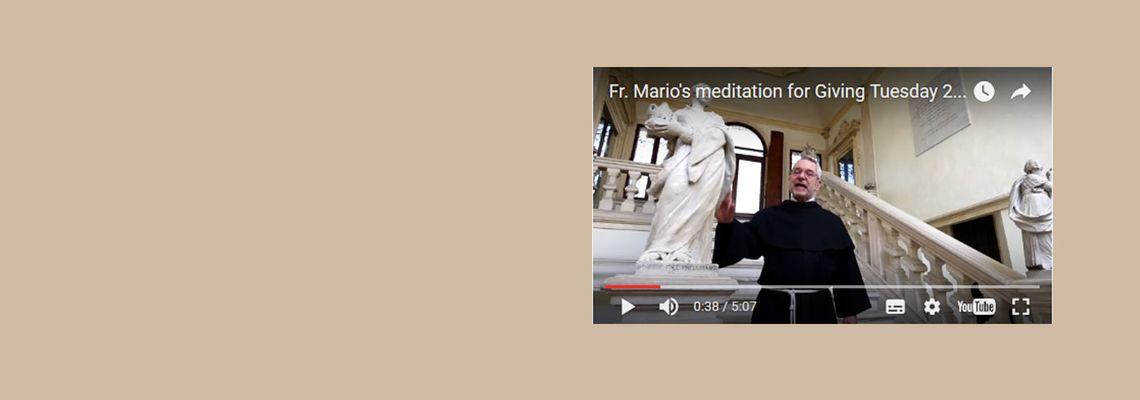 Watch Fr. Mario's meditation
