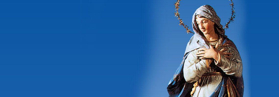 <br>Da venerdì 29 novembre a sabato 7 dicembre novena alle ore 17. <br><br>Sabato 8 dicembre Ss. Messe alle ore 11.00 (anche in web streaming) <br>e alle ore 17.00 seguita dalla processione all'interno della Basilica.<br>