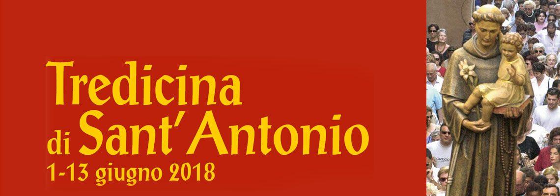 Tutti gli appuntamenti di preghiera e tutte le s. Messe della festa di sant'Antonio