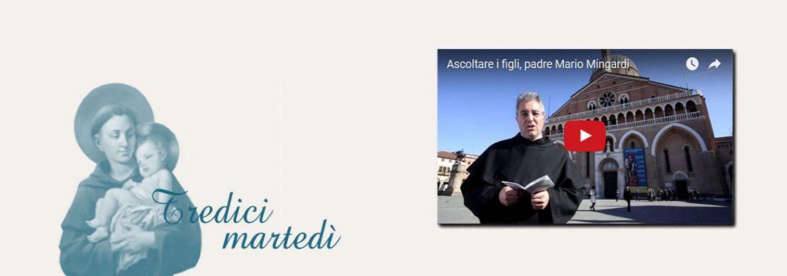 Martedì 3 maggio<br>Guarda la video-meditazione di p. Mario Mingardi