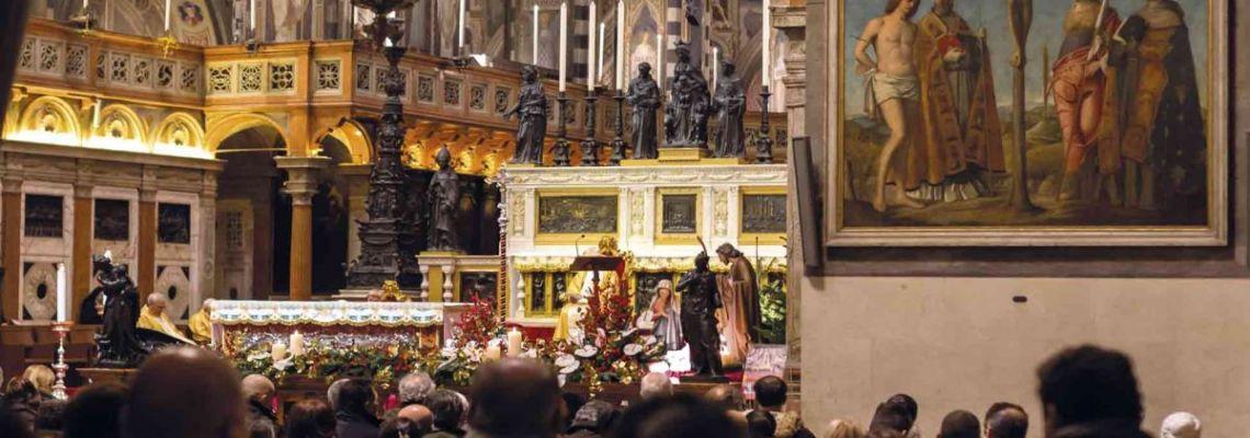 Santas Misas transmitidas en directo por streaming