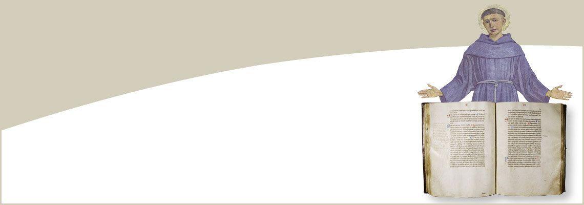 """Mostra fotografica e ostensione del Codice BP 1235,<br>lo """"statuto di sant'Antonio""""<br><br>Chiostro del Generale e Museo Antoniano,<br> 22-30 settembre 2018"""