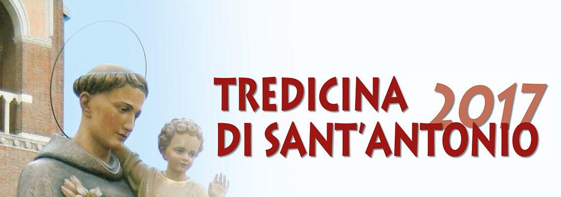 Tutti gli appuntamenti di preghiera e tutte le s. Messe della festa di sant'Antonio di martedì 13 giugno
